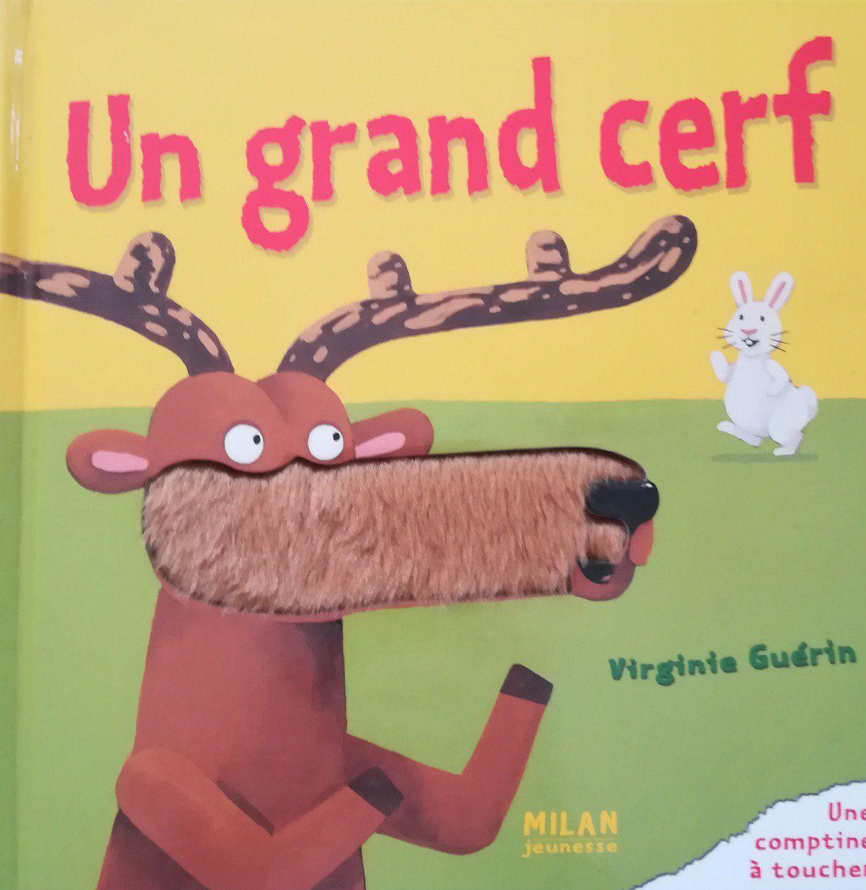 Livres En Français Chansons Et Comptines Un Grand Cerf avec Chanson Du Cerf Et Du Lapin