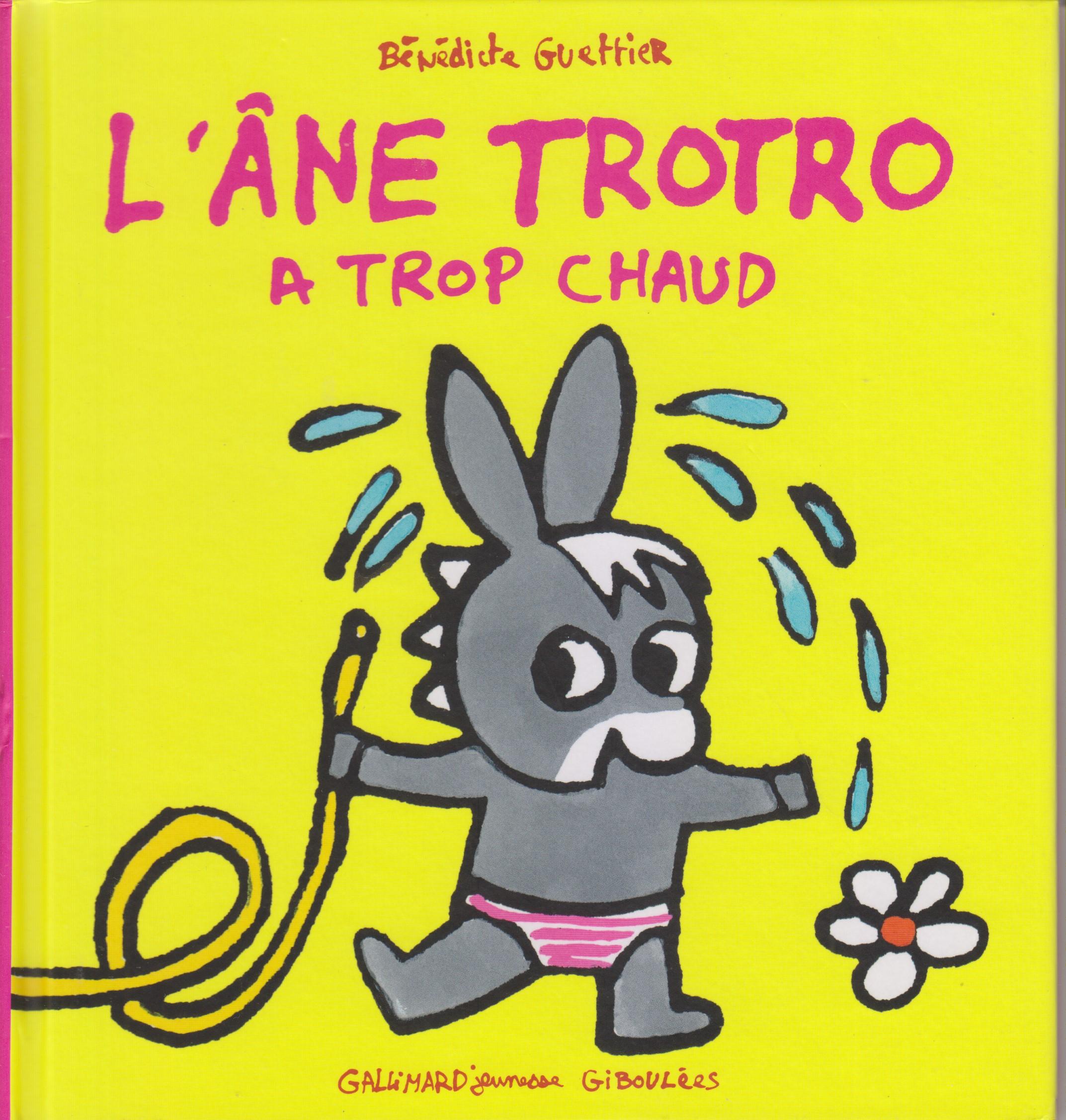 Livres - L'âne Trotro - Olobee tout Doudou Ane Trotro