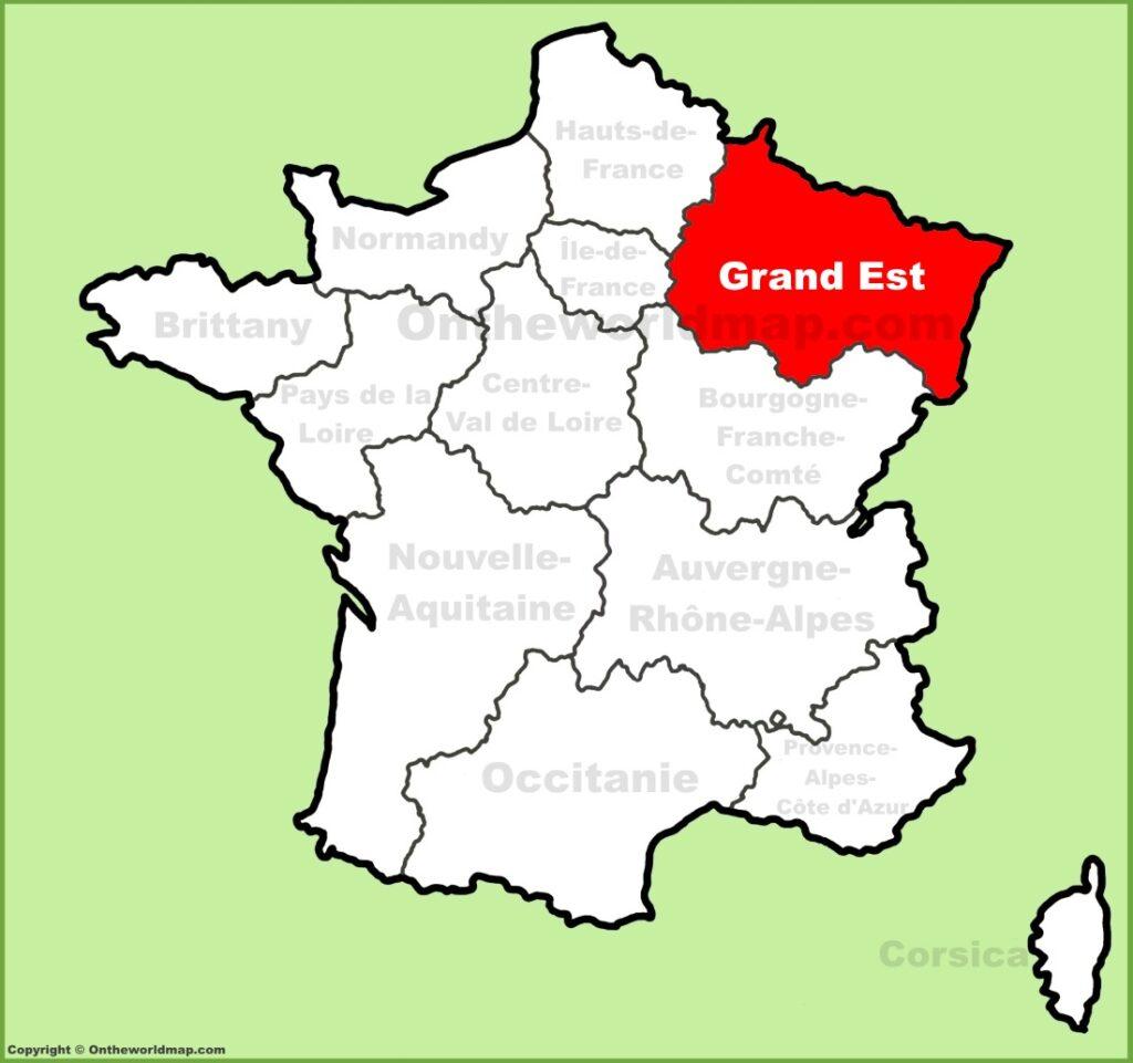 Locations Serviced - Leak Master France Provides Leak avec Nouvelle Region France