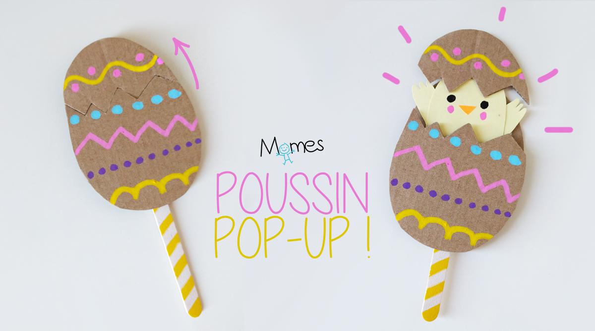 L'oeuf De Pâques Pop-Up ! - Momes encequiconcerne Bricolage Pour Paques Maternelle