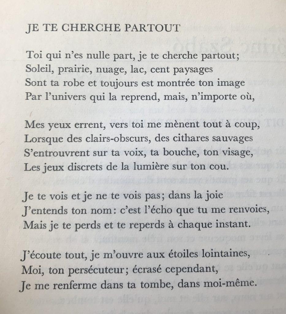 Lorinc Szabo: Un Poète Interdit De Poésie – Des Avenues Et concernant Poeme Les Fleurs