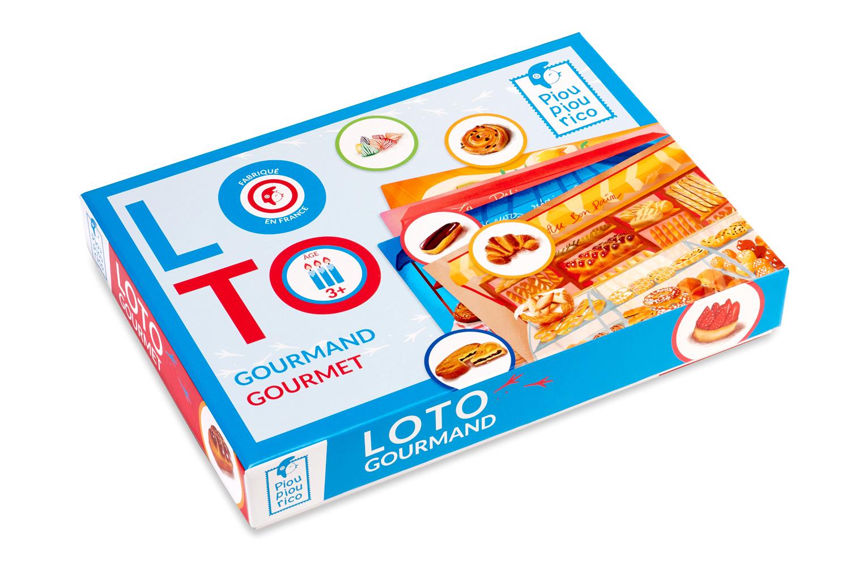 Loto Gourmand à Jeux Educatif 3 Ans
