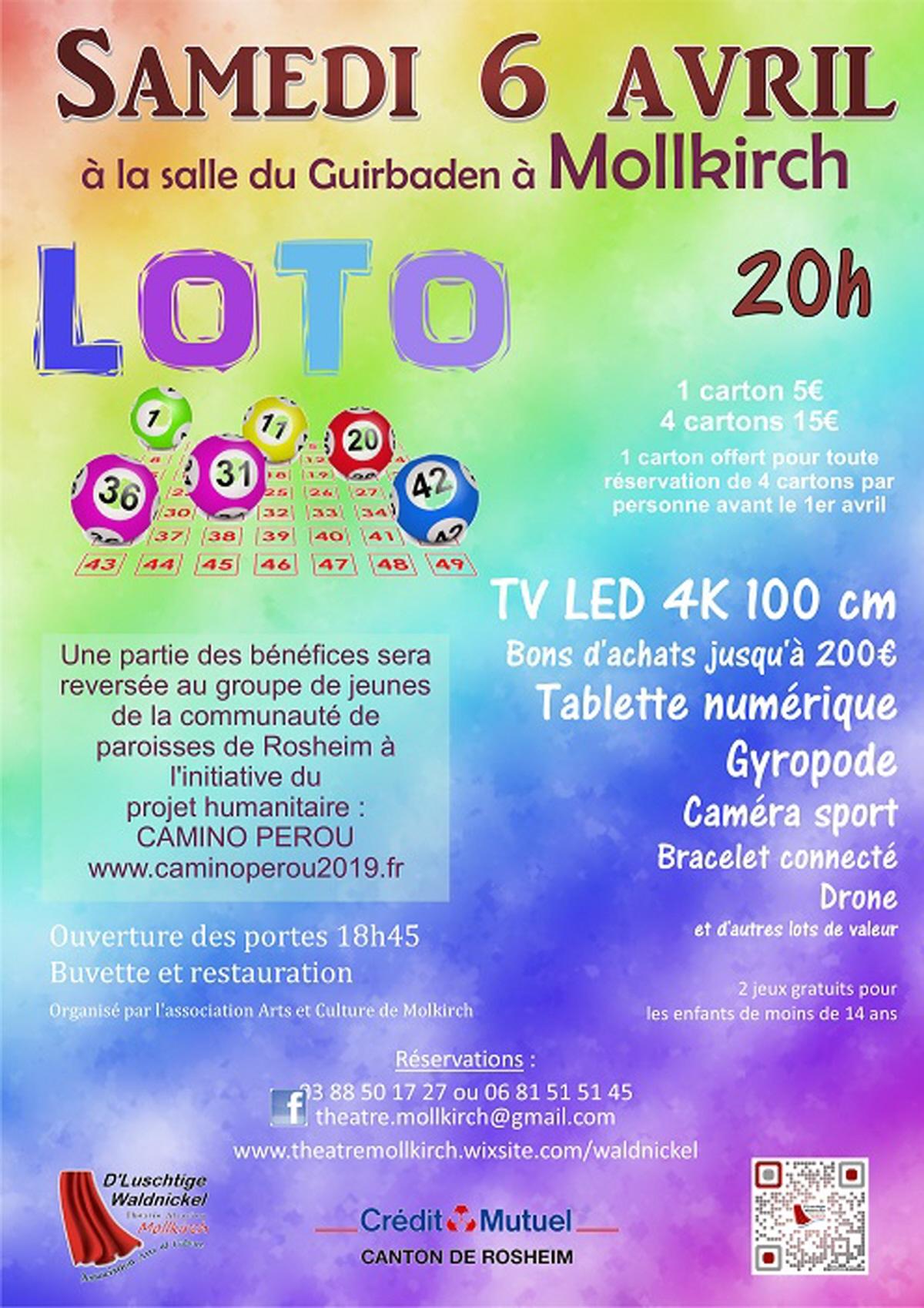 Loto : Loto A Mollkirch à Loto Espace Jeux