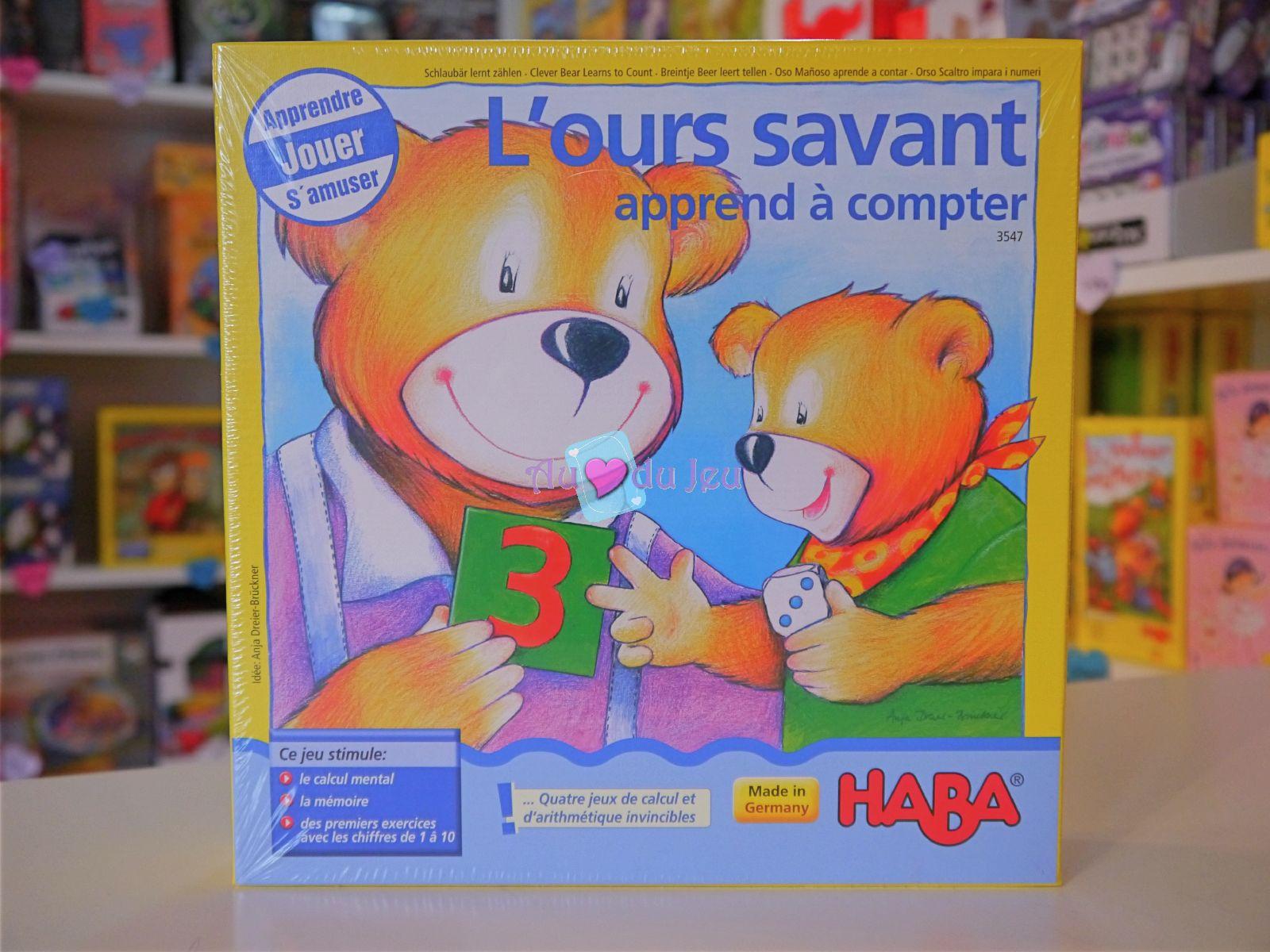 L'ours Savant Apprend À Compter avec Ours Savant