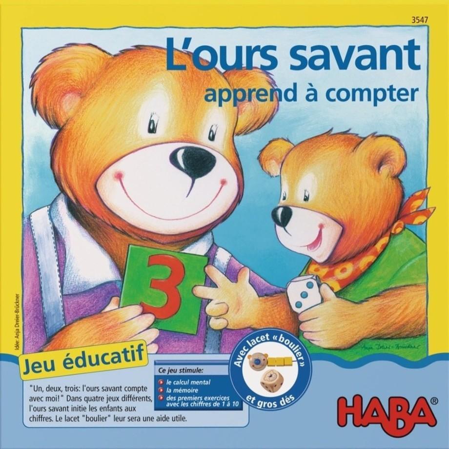L'ours Savant Apprend À Compter Cover 22811 - Images - L'ours Savant:  Apprend À Compter (2007) - Jeux De Société - 1Jour-1Jeu encequiconcerne Ours Savant