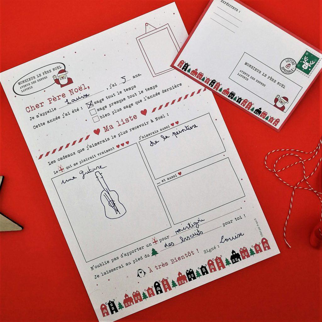 Ma Lettre Au Père Noël : Modèles À Imprimer - à Reponse Lettre Du Pere Noel A Imprimer
