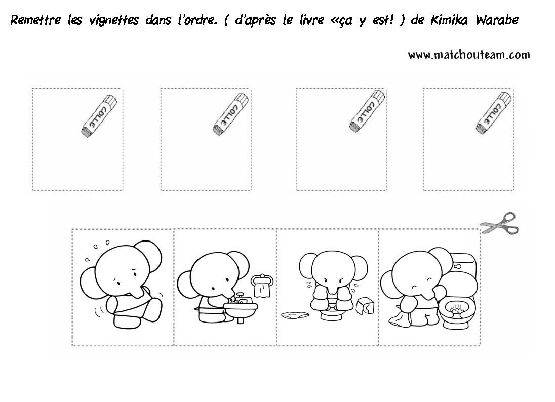 Ma Tchou Team: Images Séquentielles Pour Apprendre La Propreté! destiné Images Séquentielles Maternelle