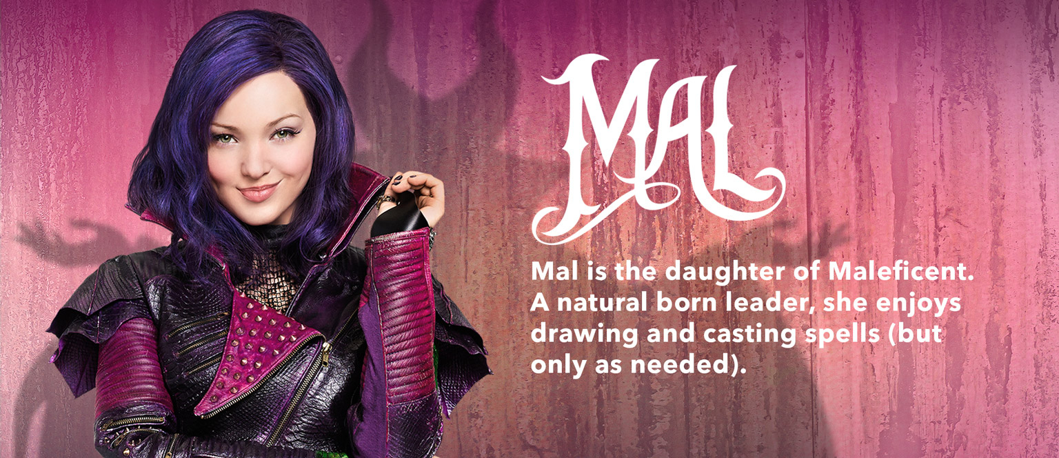 "Mal, Personnage Dans ""descendants"". 