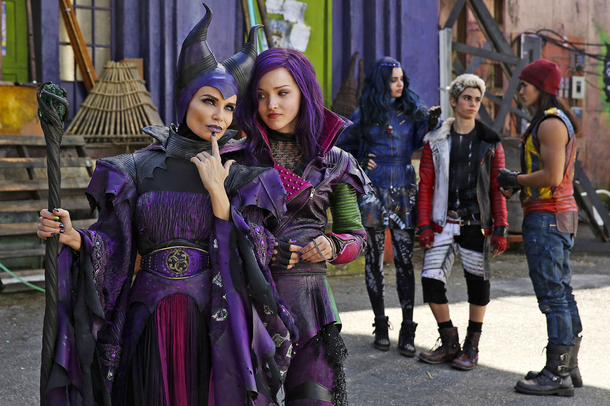 "Maléfique, Personnage Dans ""descendants"". 