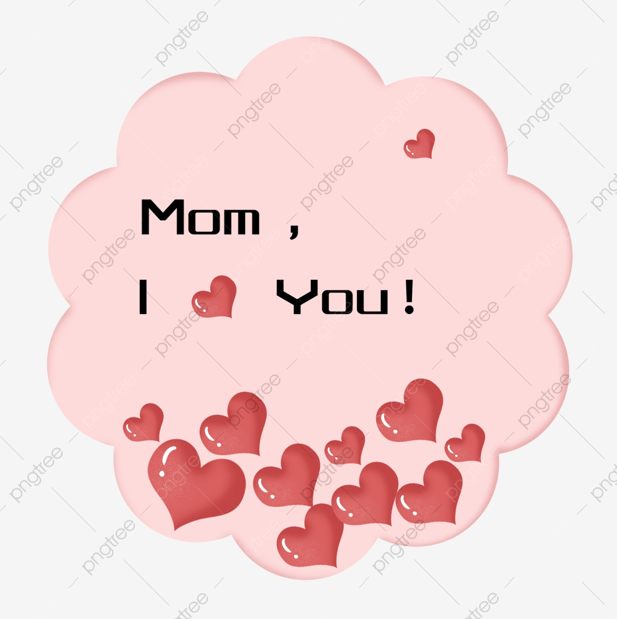 Maman Je T'aime Amour Coeur, Amour Rouge, Je T'aime tout Texte Maman Je T Aime