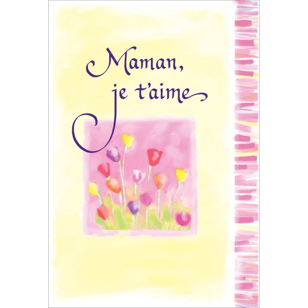 Maman Je T'aime, Susan Polis Schutz, Blue Mountain Arts destiné Texte Maman Je T Aime