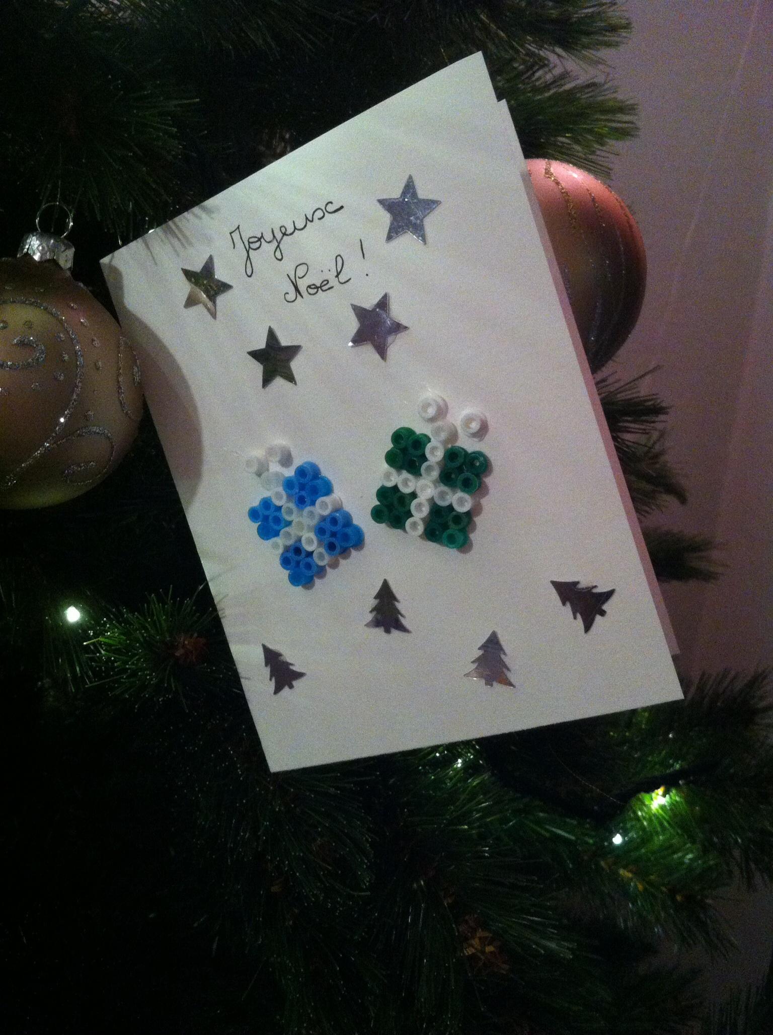 Maman Puissance 4 Petit Bricolage De Noël No2 - Les Cartes pour Bricolage Cp Noel