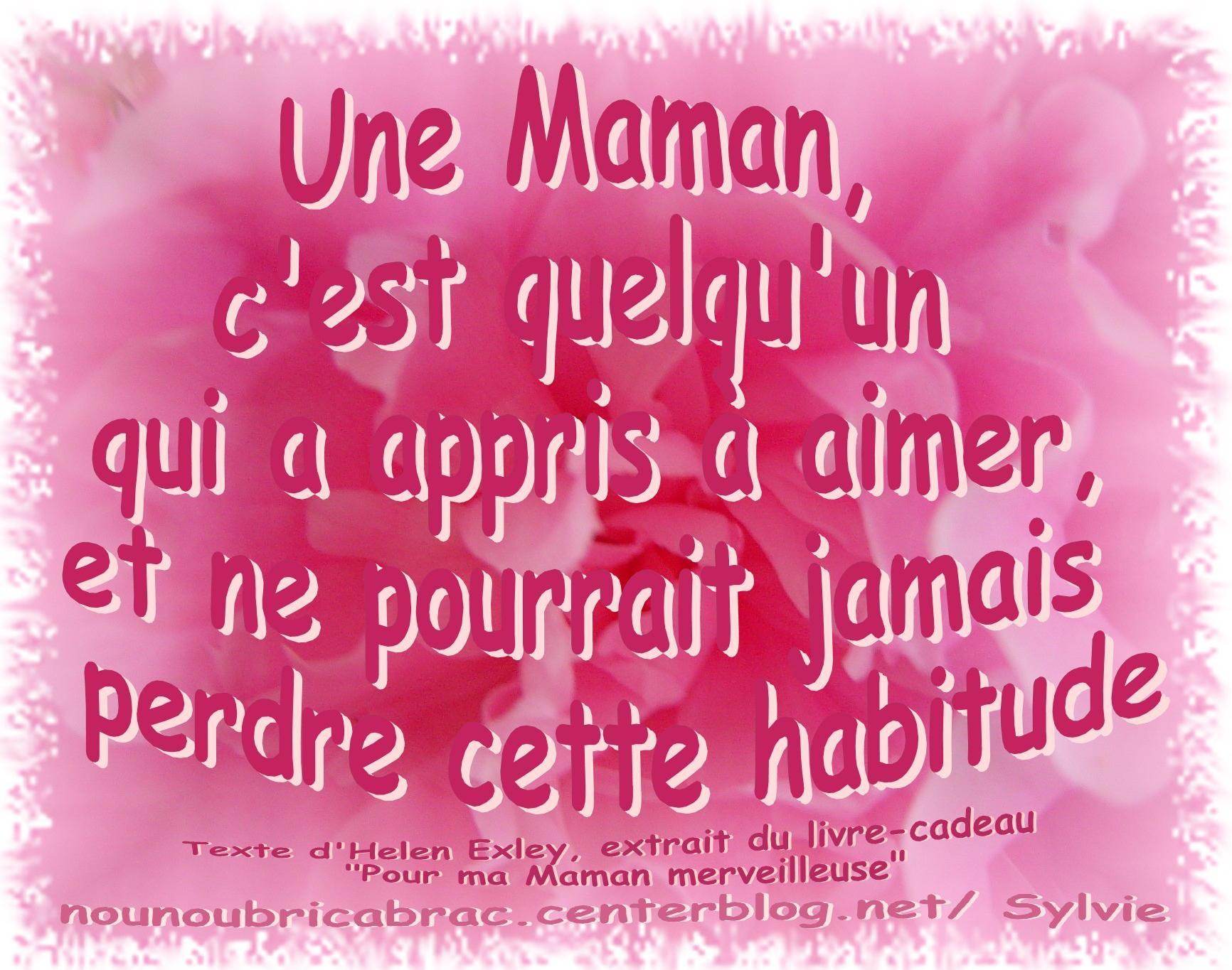 Mamans Je Taime intérieur Texte Maman Je T Aime