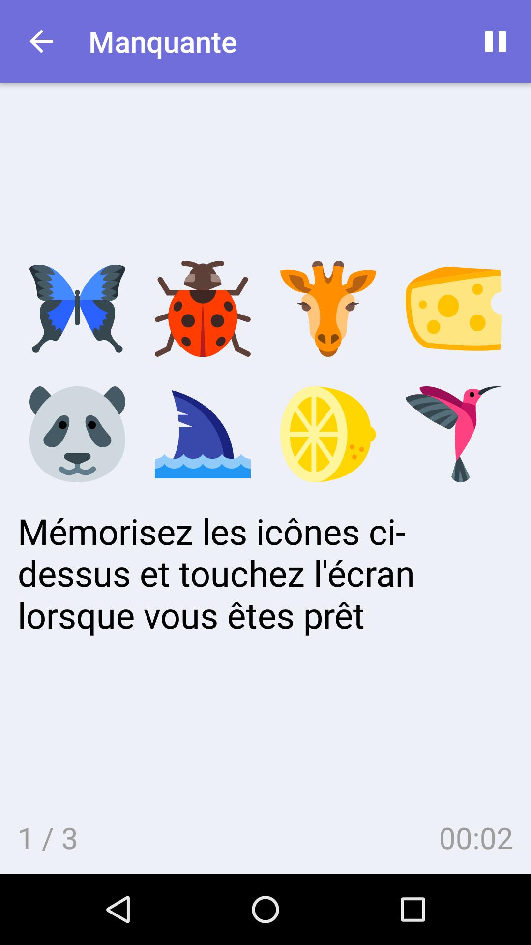 Manquante : Jeu De Mémoire Gratuit Pour Iphone & Android dedans Jeu De Memoire Gratuit