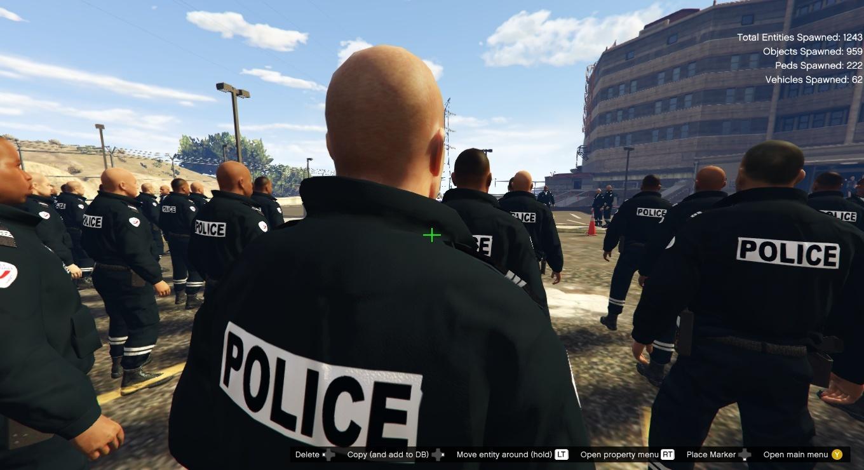 Map Ecole Nationale De Police [Menyoo] - Gta5-Mods tout Police Script Ecole