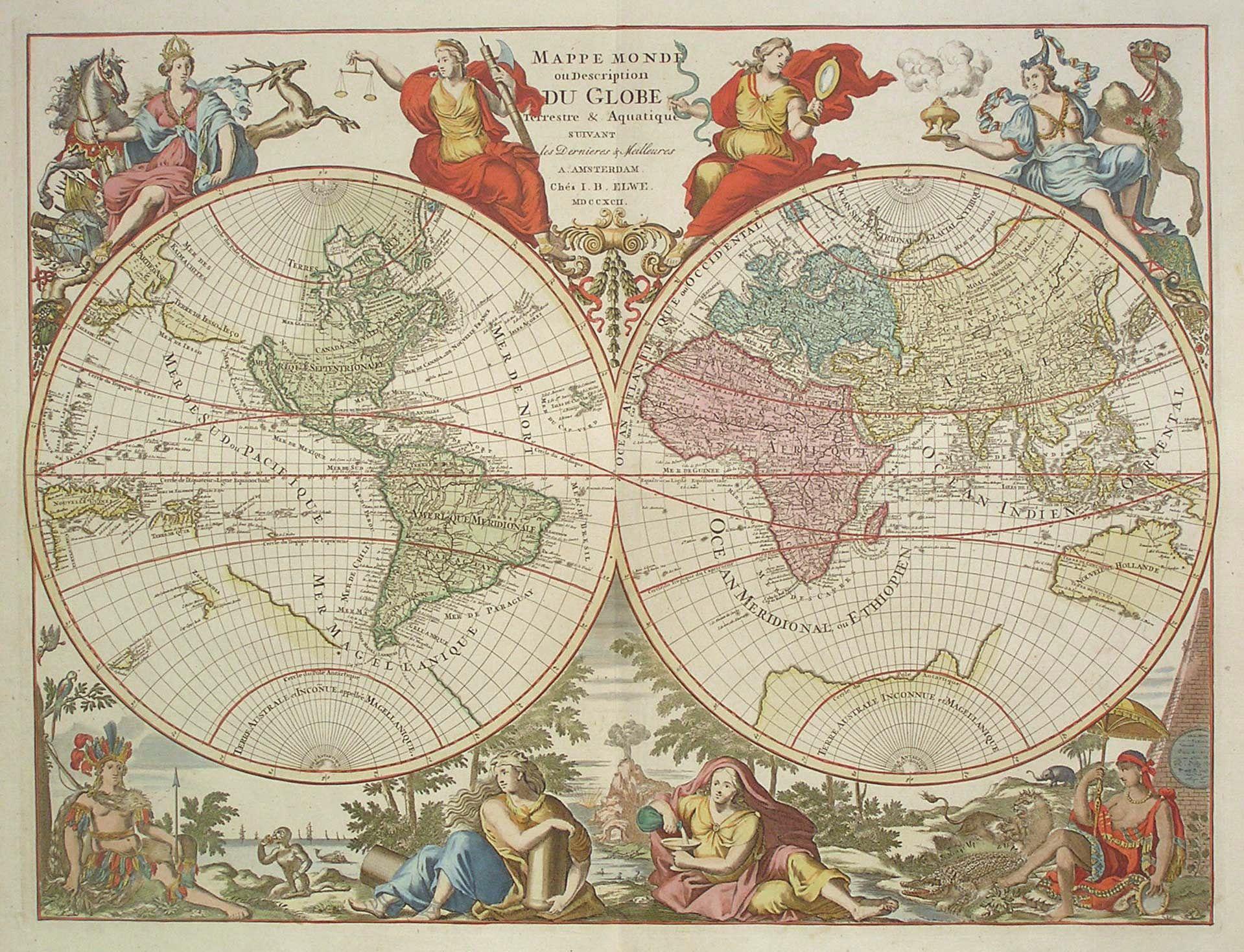 Mappemonde Globe Terrestre Et Cartes - Page 4 destiné Dessin Mappemonde