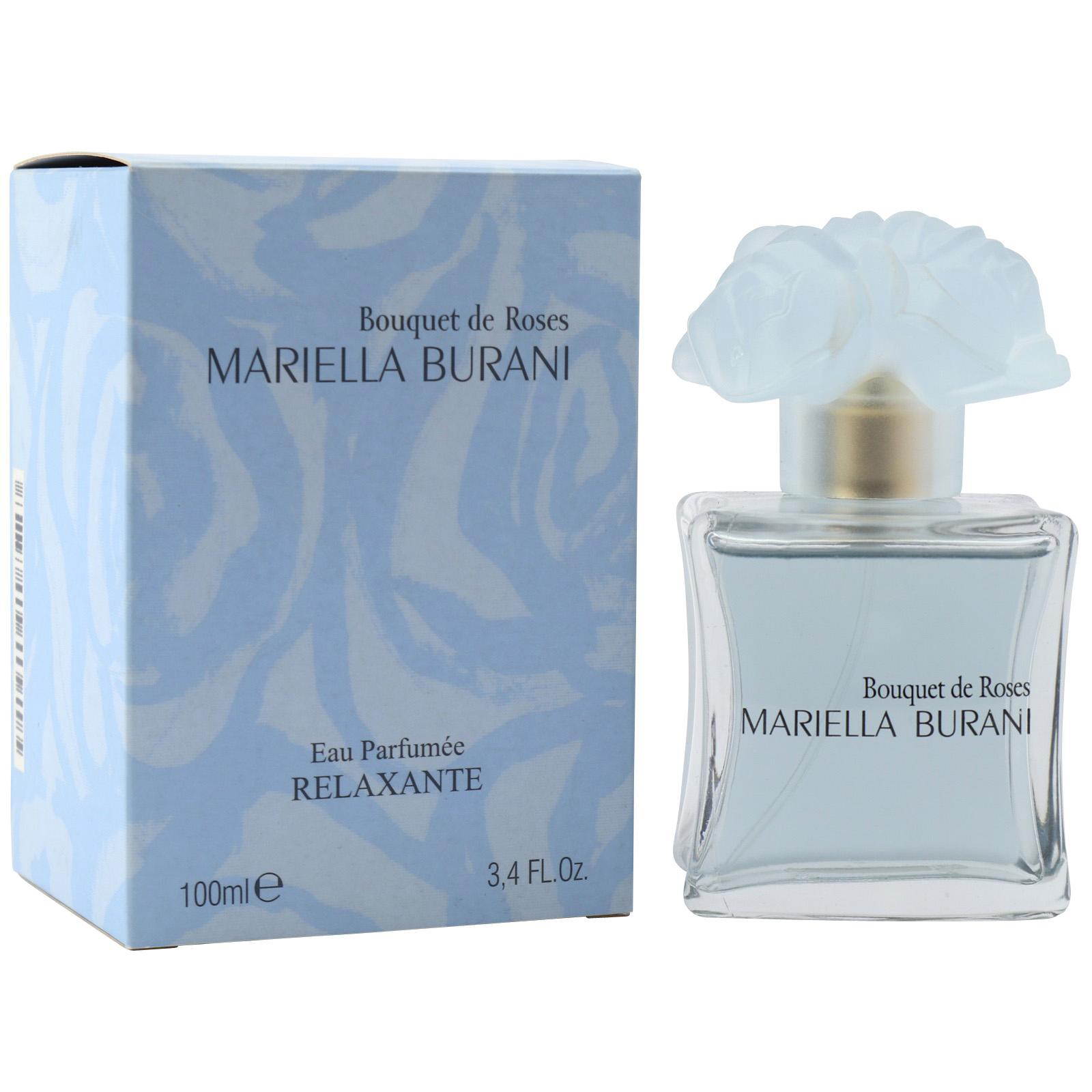 Mariella Burani Bouquet De Roses Relaxante Eau Parfumee Spray 100 Ml |  Duftwelt Hamburg pour Image Relaxante