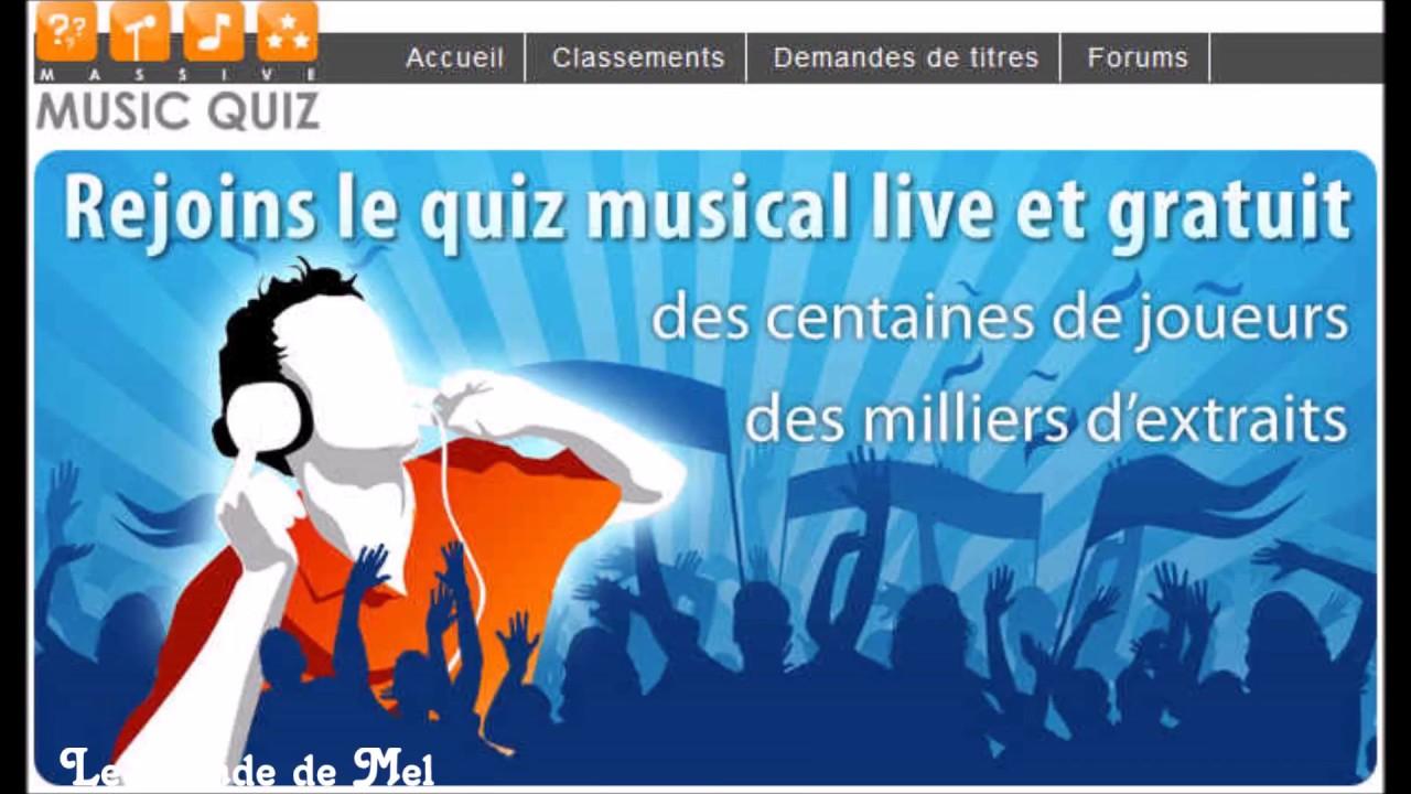 Massive Music Quiz : Ancienne Version  Nouvelle Version ♫ destiné Quiz Musical En Ligne