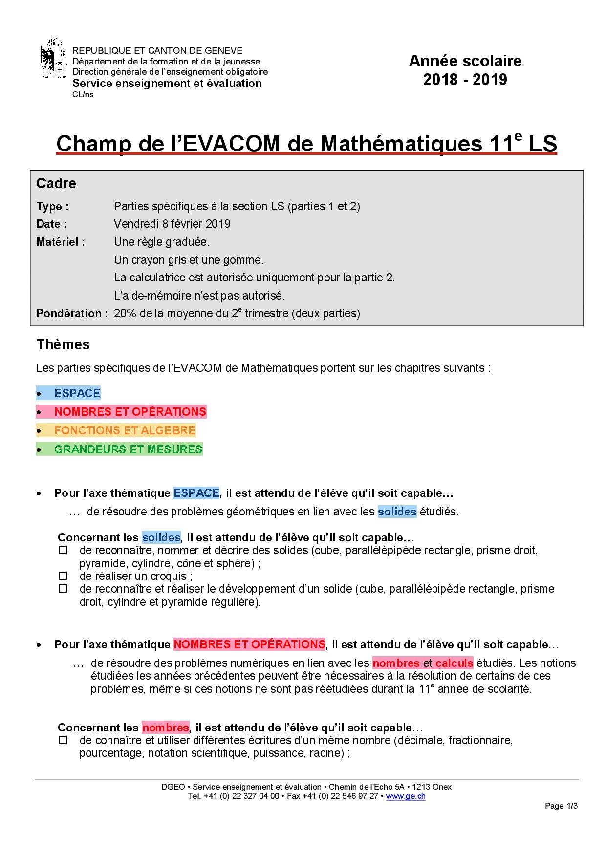 Maths Champ 2018 11E - Docsity à Les Nombres De 0 À 20
