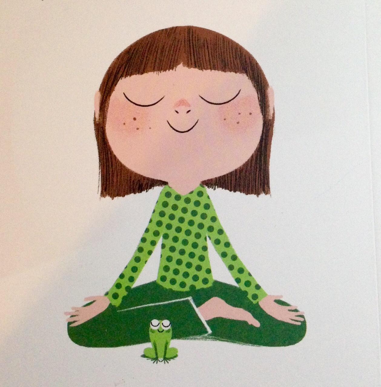 Méditation Pour Aider Les Enfants À Dormir (Calme Et intérieur La Grenouille Meditation