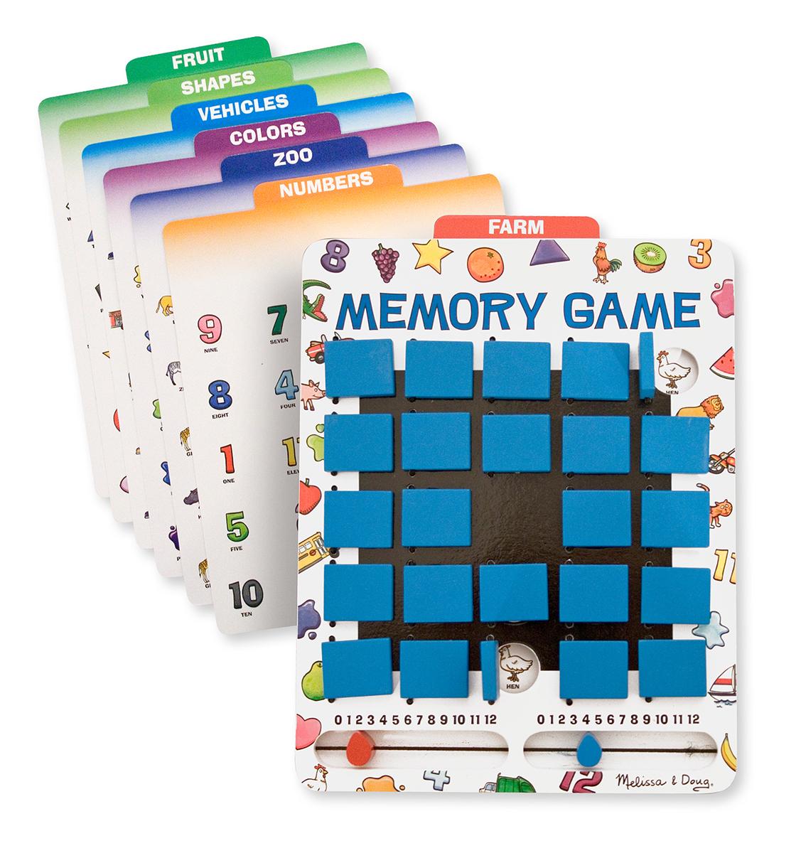 Mel&do - Jeux De Mémoire Pour Voiture tout Jeux De Memoire Enfant