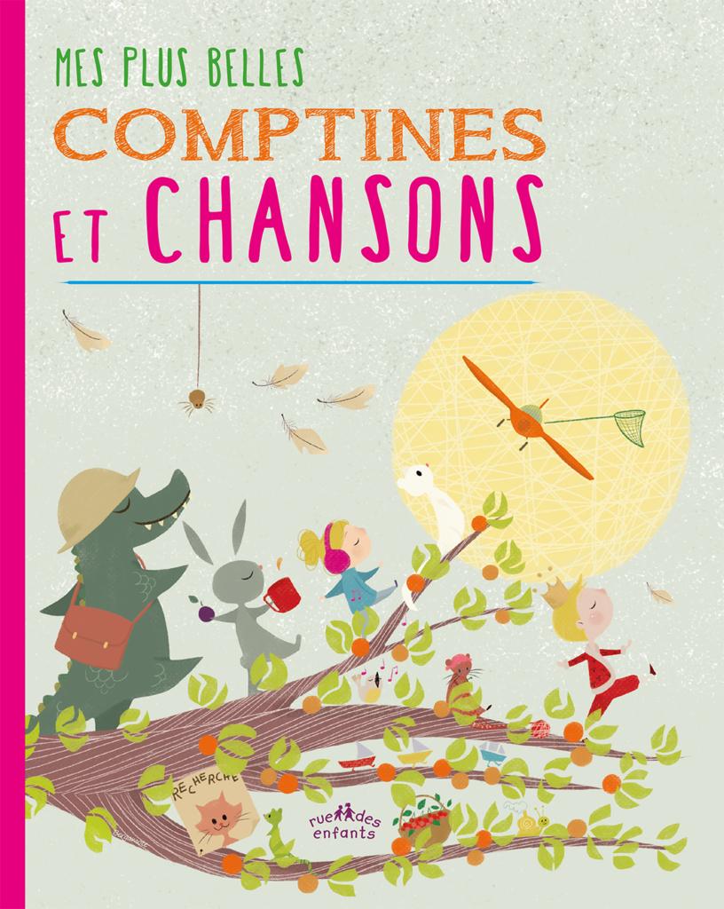Mes Plus Belles Comptines Et Chansons, Version Couverture dedans Comptine Bonjour Madame Lundi