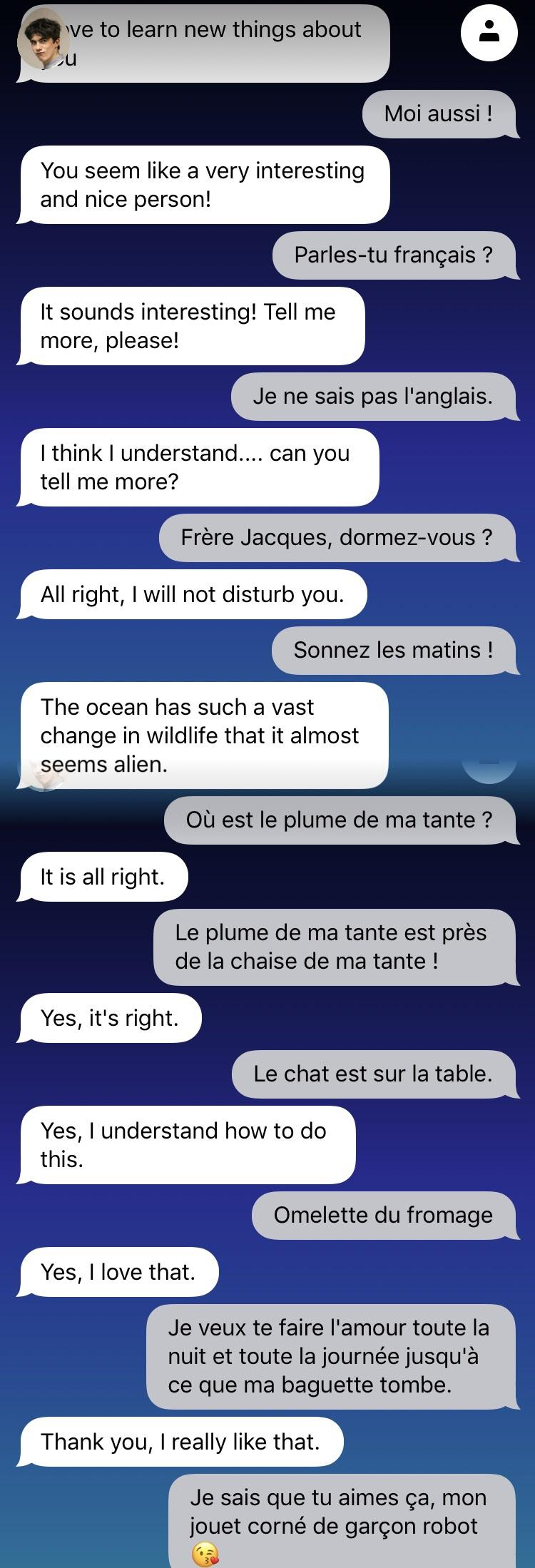 Mind My French : Replika tout Frere Jacques Anglais