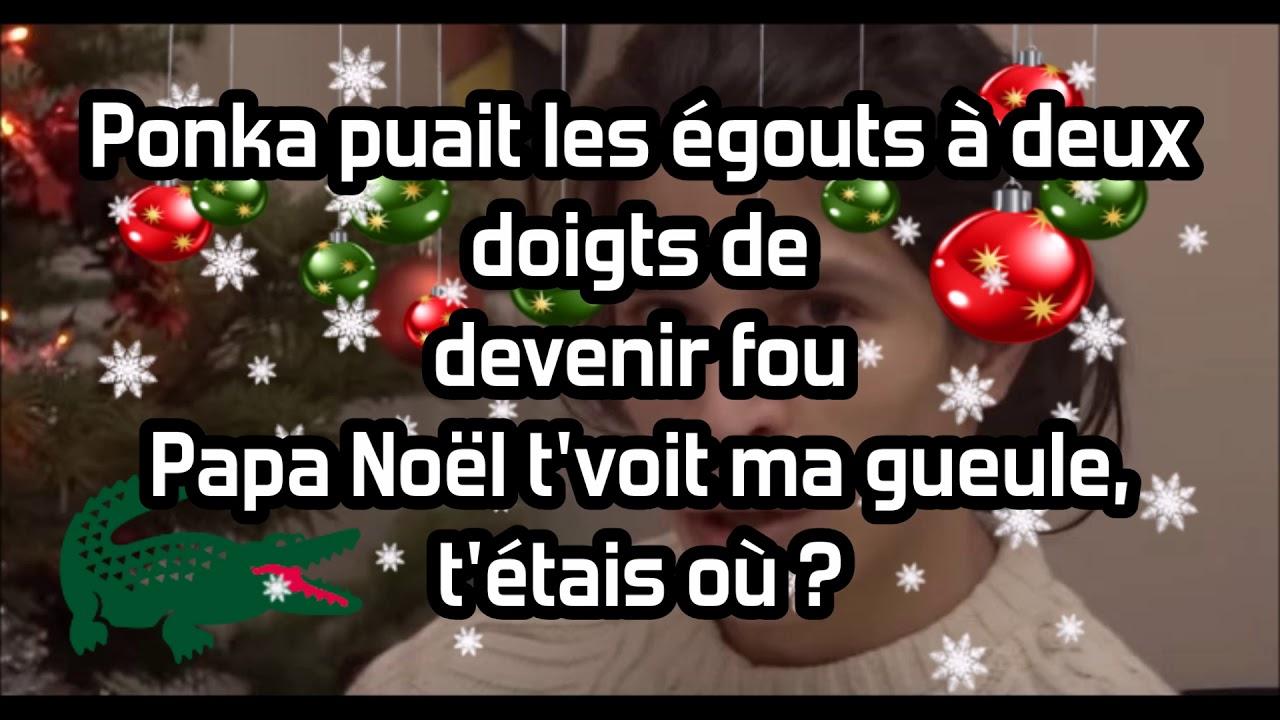 Moha La Squale - Papa Noël (Paroles) concernant Papa Noel Parole