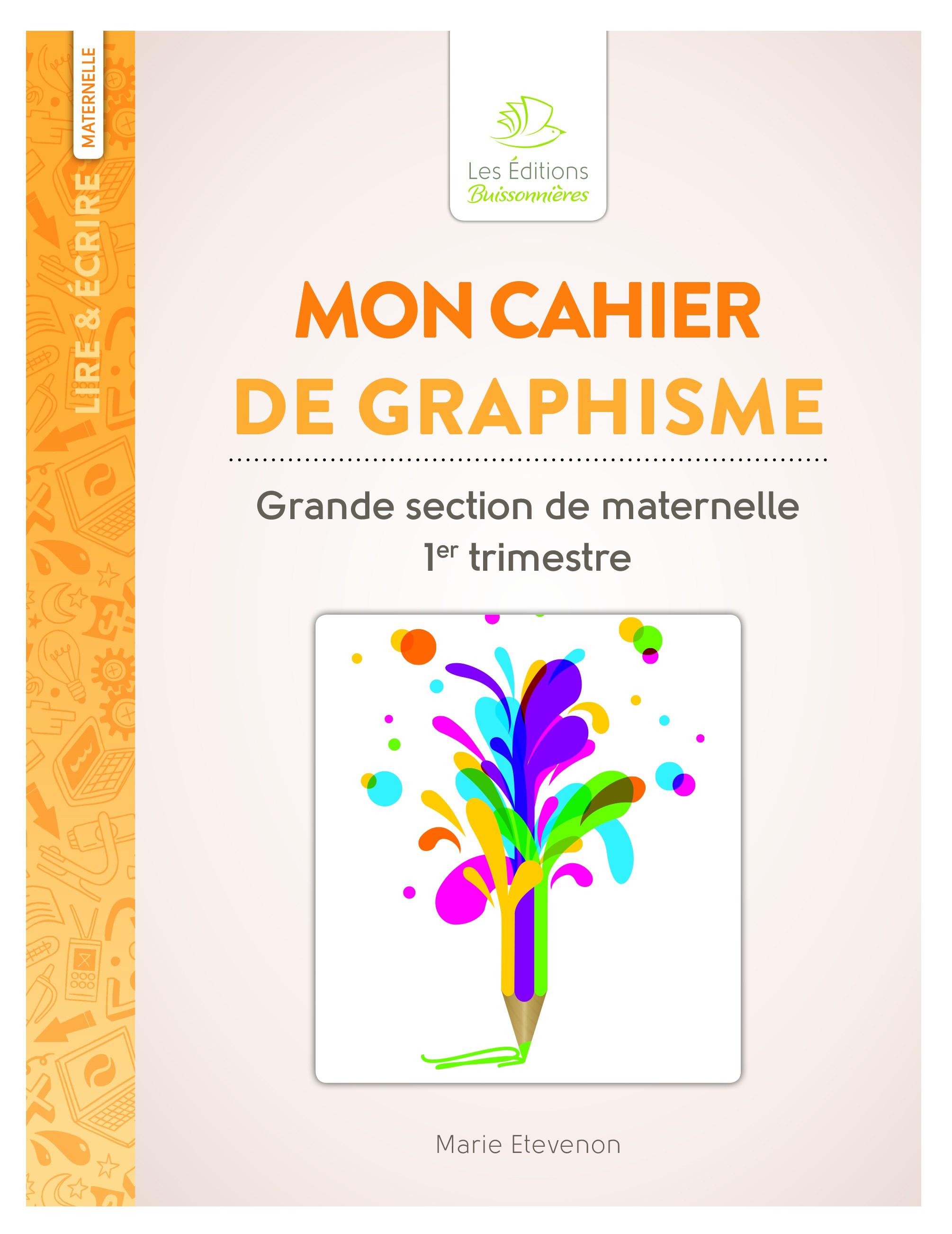 Mon Cahier De Graphisme Grande Section De Maternelle - Scop avec Fiche D Exercice Grande Section A Imprimer