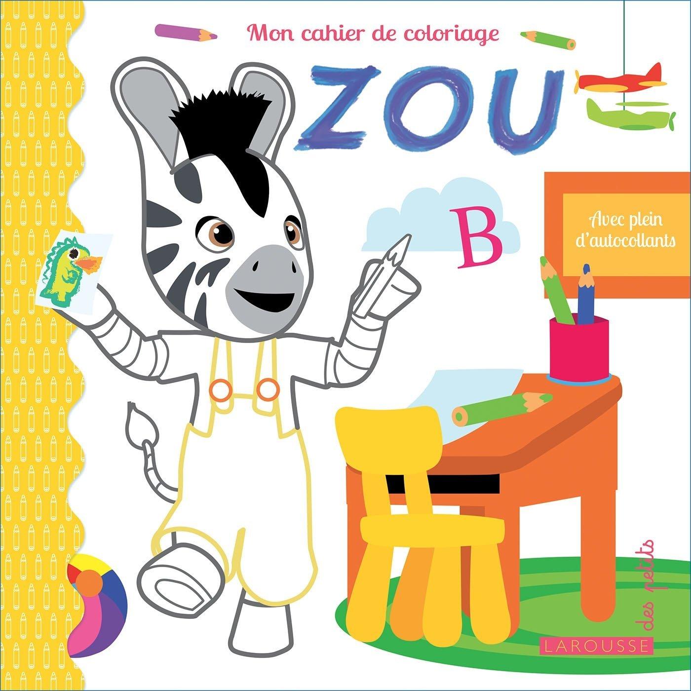 Mon Carnet De Coloriages Zou By Michel Gay dedans Zou Coloriage