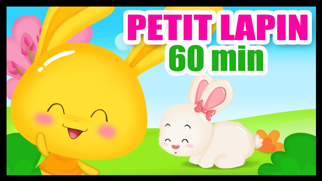 Mon Petit Lapin - 60 Min De Comptines Pour Les Bébés Et Les Maternelles dedans Chanson Enfant Lapin