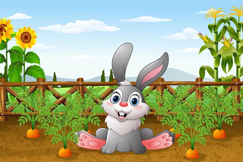 Mon Petit Lapin, Chansons Pour Enfants Sur Hugolescargot intérieur Chanson Enfant Lapin