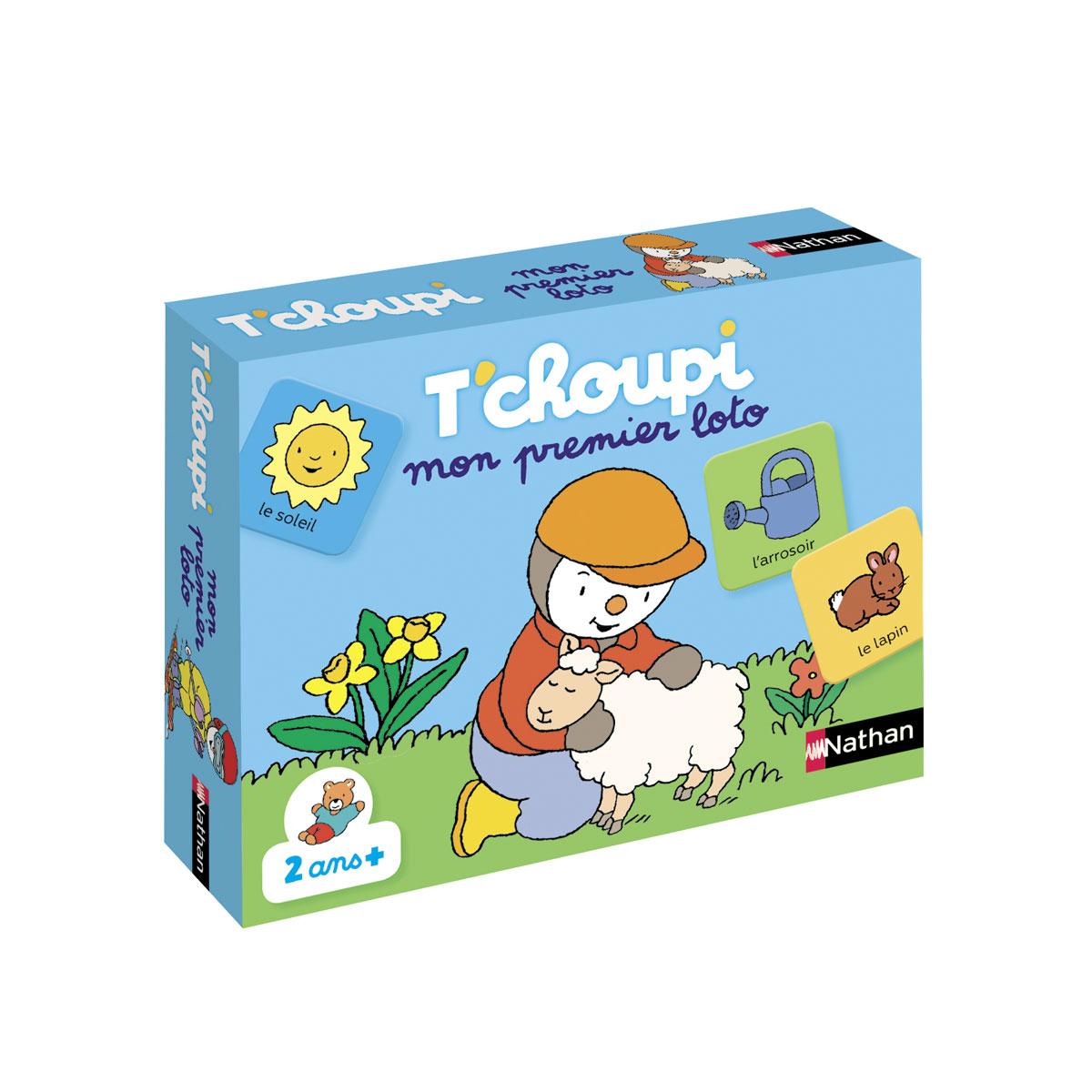 Mon Premier Loto T'choupi serapportantà Tchoupi Au Marché