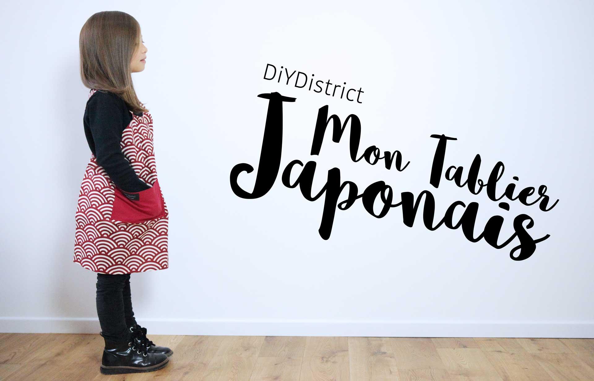 Mon Tablier Japonais Fait Main! destiné Bonjour Japonnais