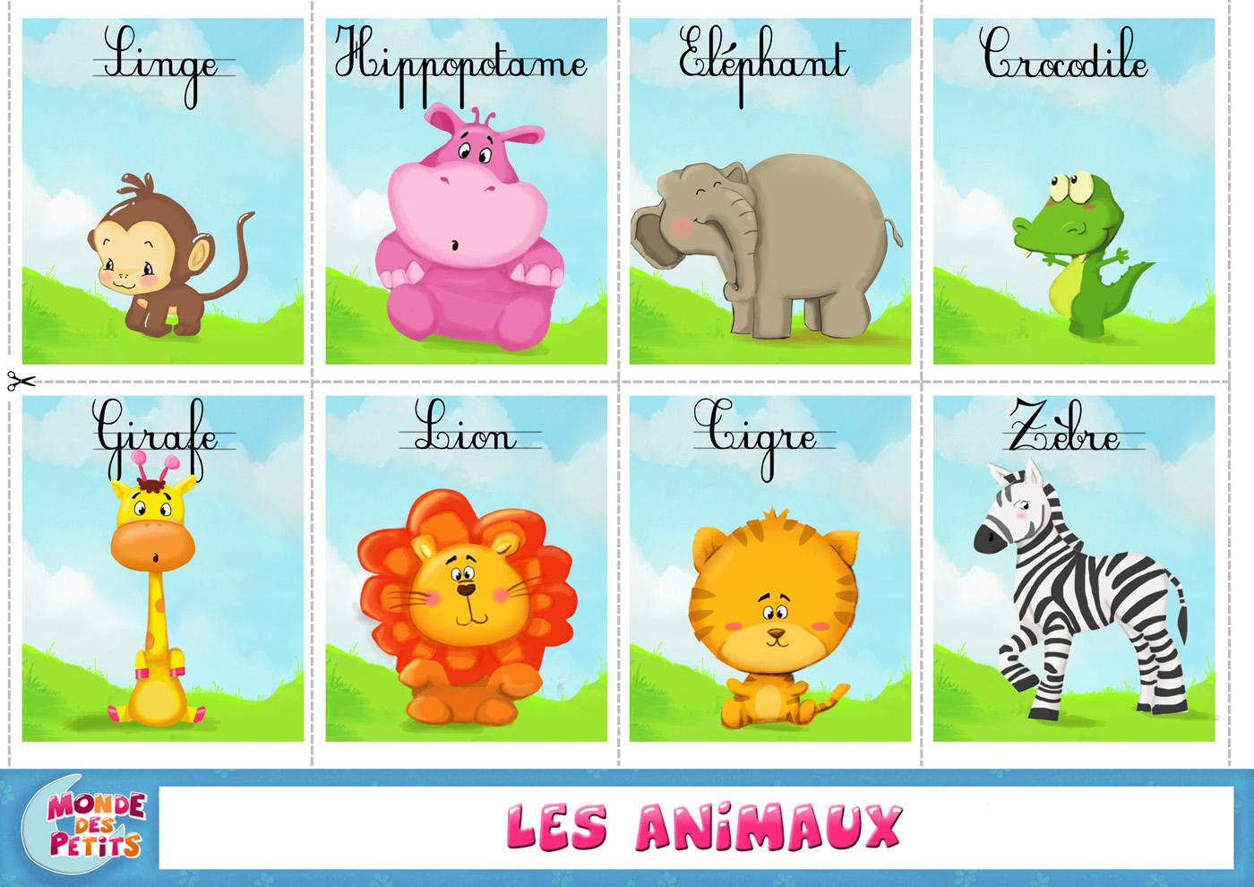 Monde Des Petits - Apprendre En Vidéo destiné Apprendre Les Animaux Pour Bebe