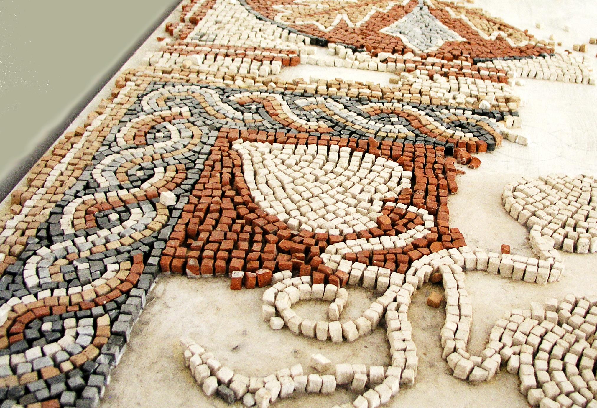 Mosaïque — Wikipédia à Support Pour Mosaique