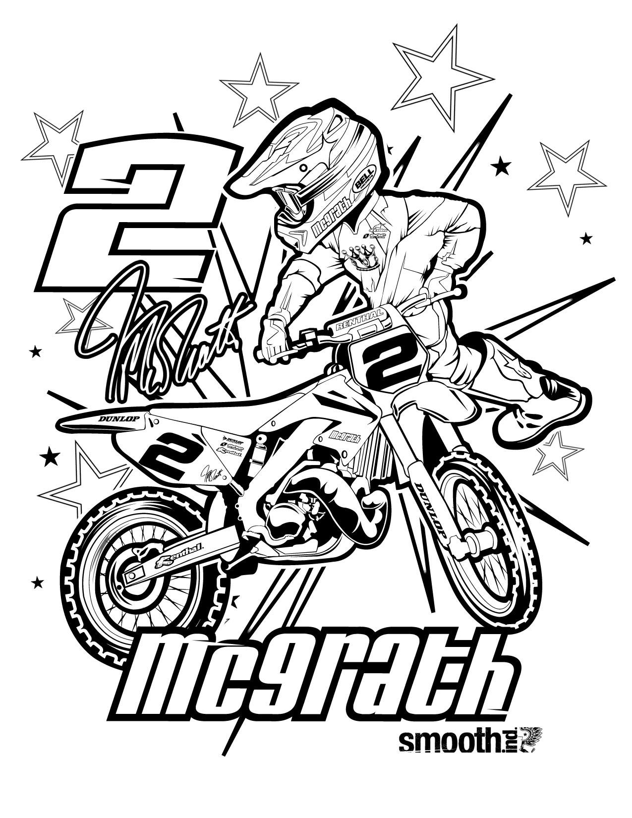 Motocross #8 (Transport) – Coloriages À Imprimer intérieur Coloriage Grande Roue