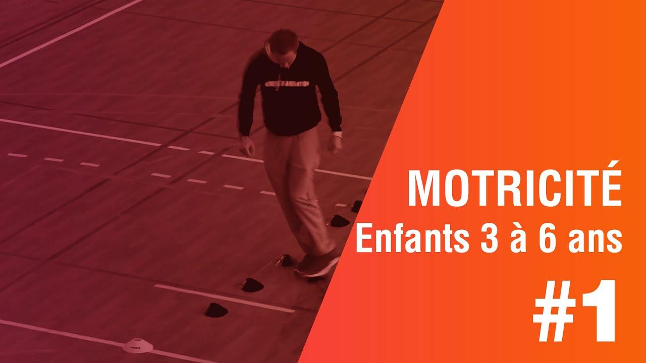 Motricité, Parcours N° 1; Enfants3 À 6 Ans serapportantà Jeux Sportifs 6 12 Ans
