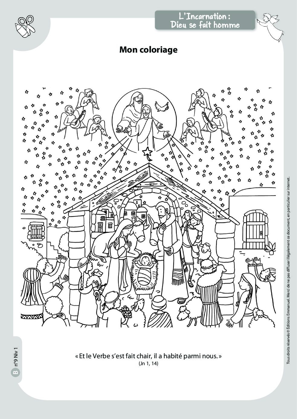 Mots Croisés De Noël - Catéchisme Emmanuel à Mots Croisés Noel