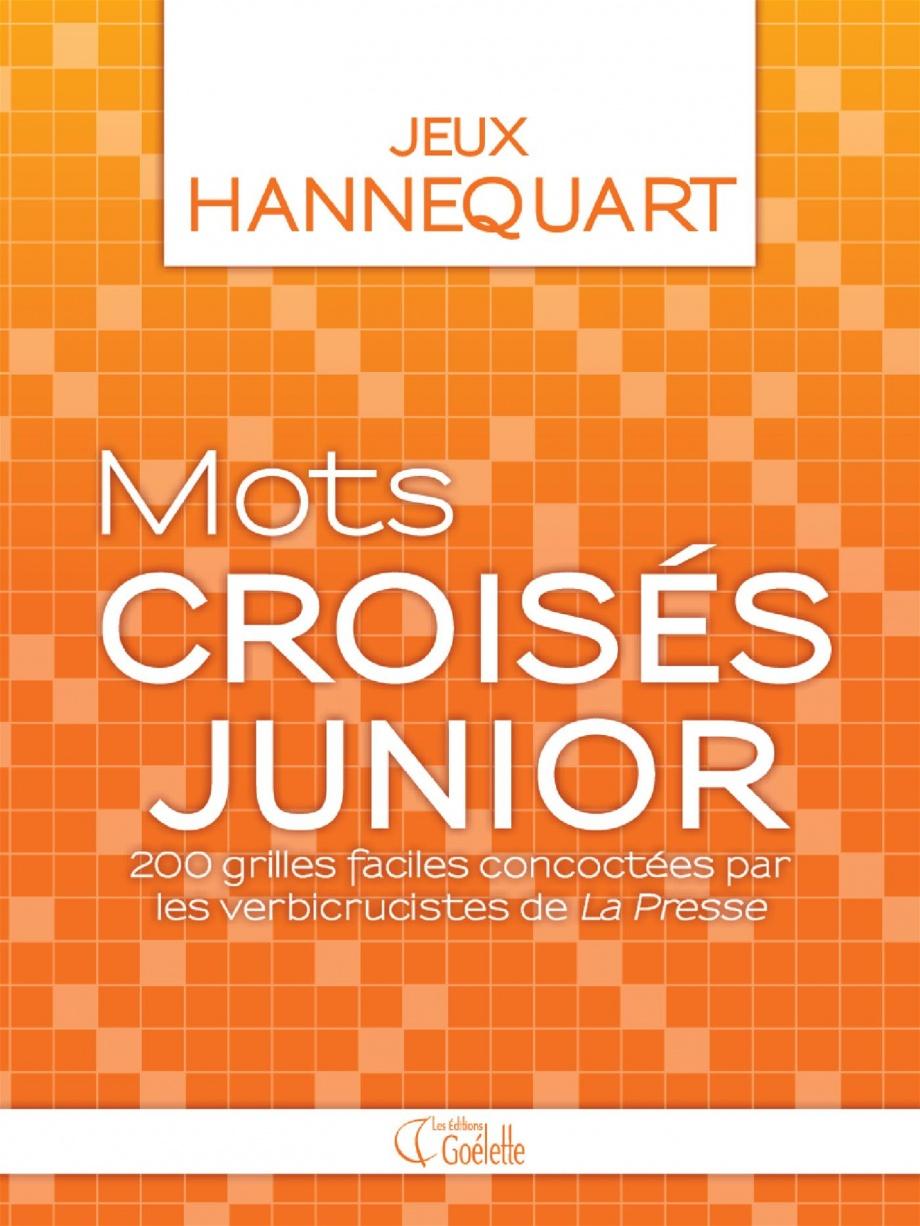 Mots Croisés Junior : 200 Grilles Faciles Par Étienne tout Mots Croisés Faciles À Imprimer