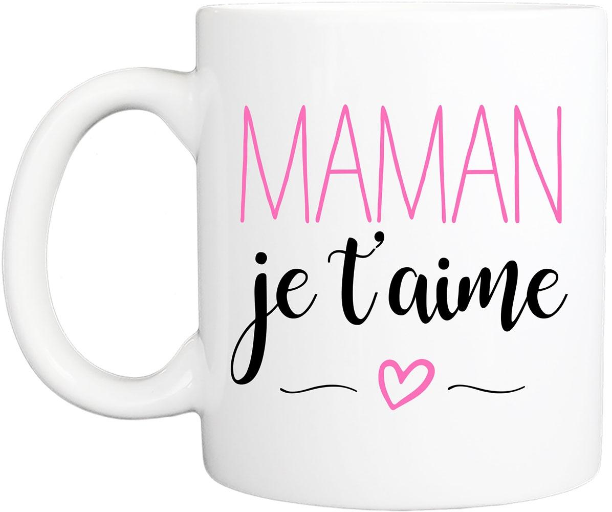 Mug Maman Je T'aime destiné Texte Maman Je T Aime