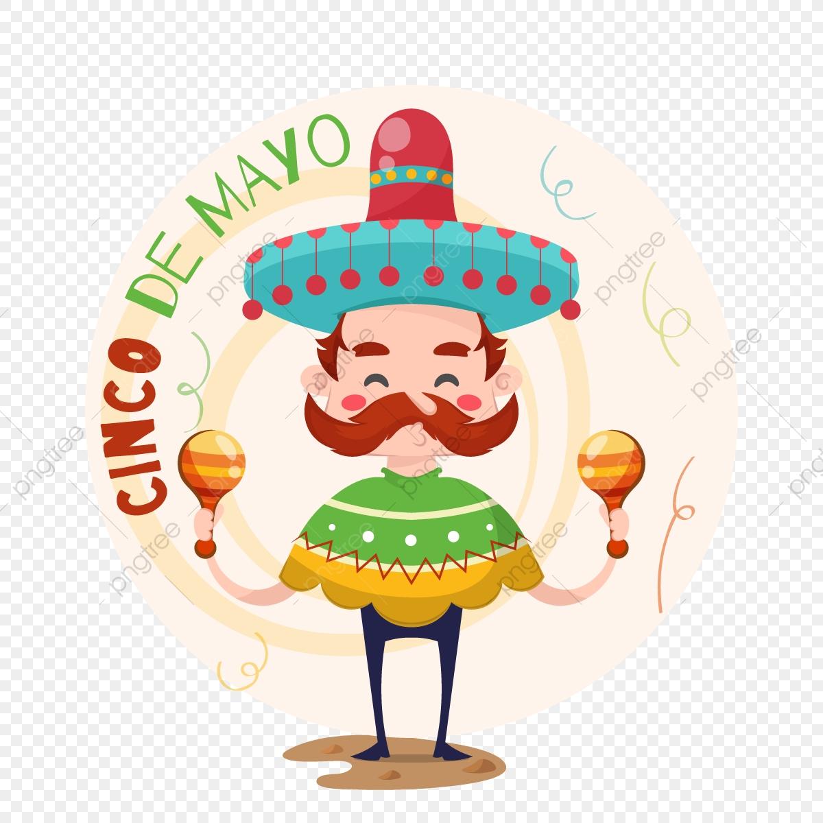 Musicien Mexicain Cinco De Mayo, Contexte, Banner, Carte Png destiné Musicien Mexicain