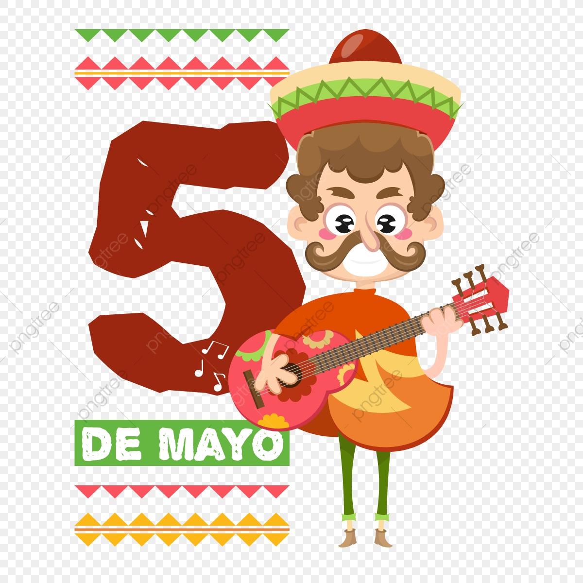 Musicien Mexicain Cinco De Mayo, Contexte, Banner, Carte Png tout Musicien Mexicain