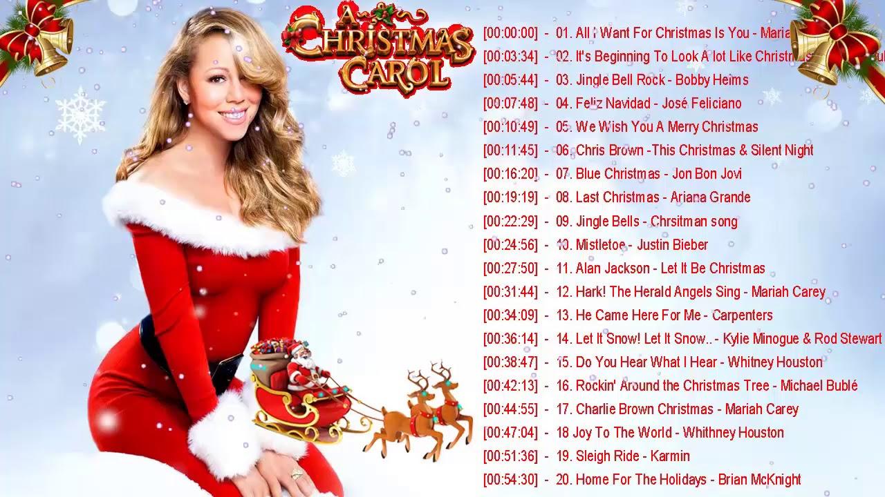 Musique Noel En Anglais - Compilation Chansons De Noel - Chanson De Noel En  Anglais - Joyeux Noël encequiconcerne Chanson De Noel Ecrite