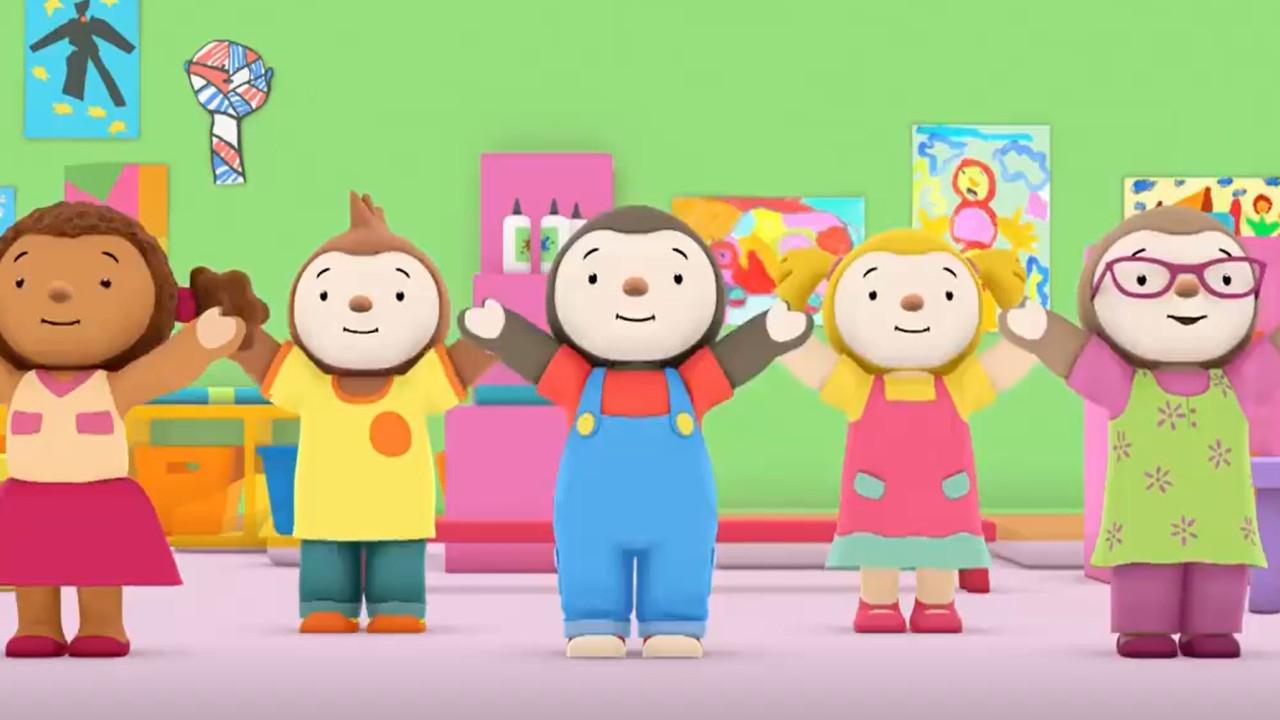 Mycanal : 9 Séries Pour Les Enfants De 3 À 6 Ans À Voir intérieur Episode Tchoupi