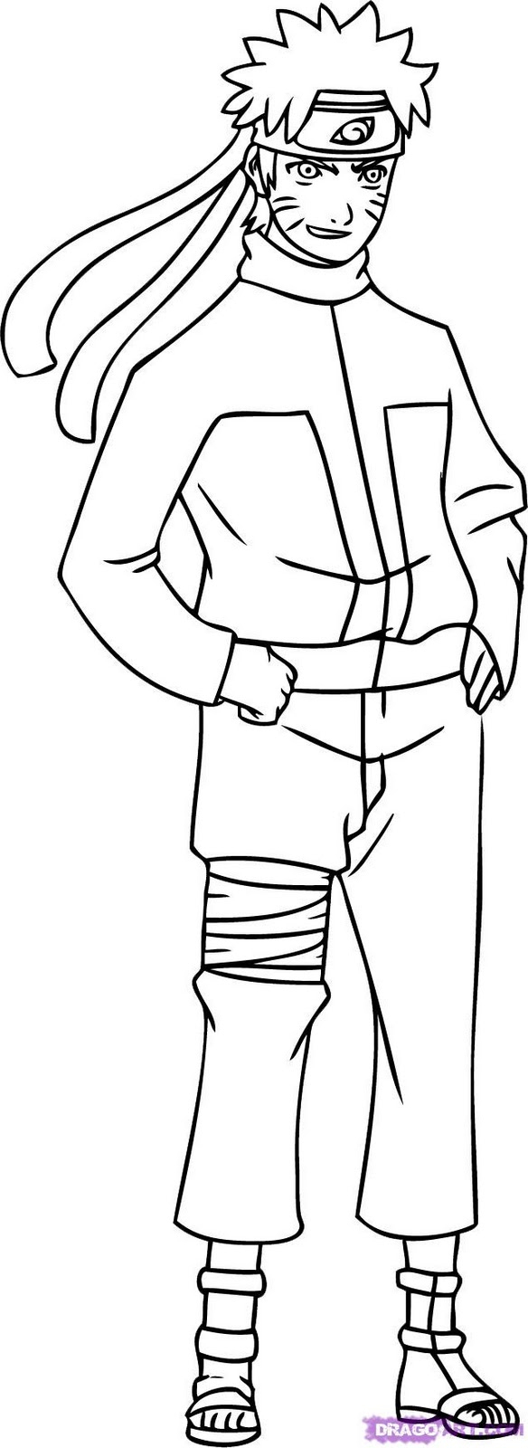 Naruto #49 (Dessins Animés) – Coloriages À Imprimer dedans Coloriage De Naruto Shippuden A Imprimer