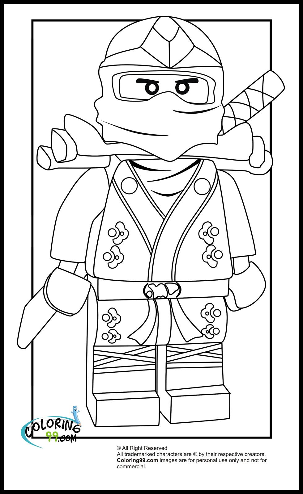 Ninjago #13 (Dessins Animés) – Coloriages À Imprimer pour Colorino A Imprimer