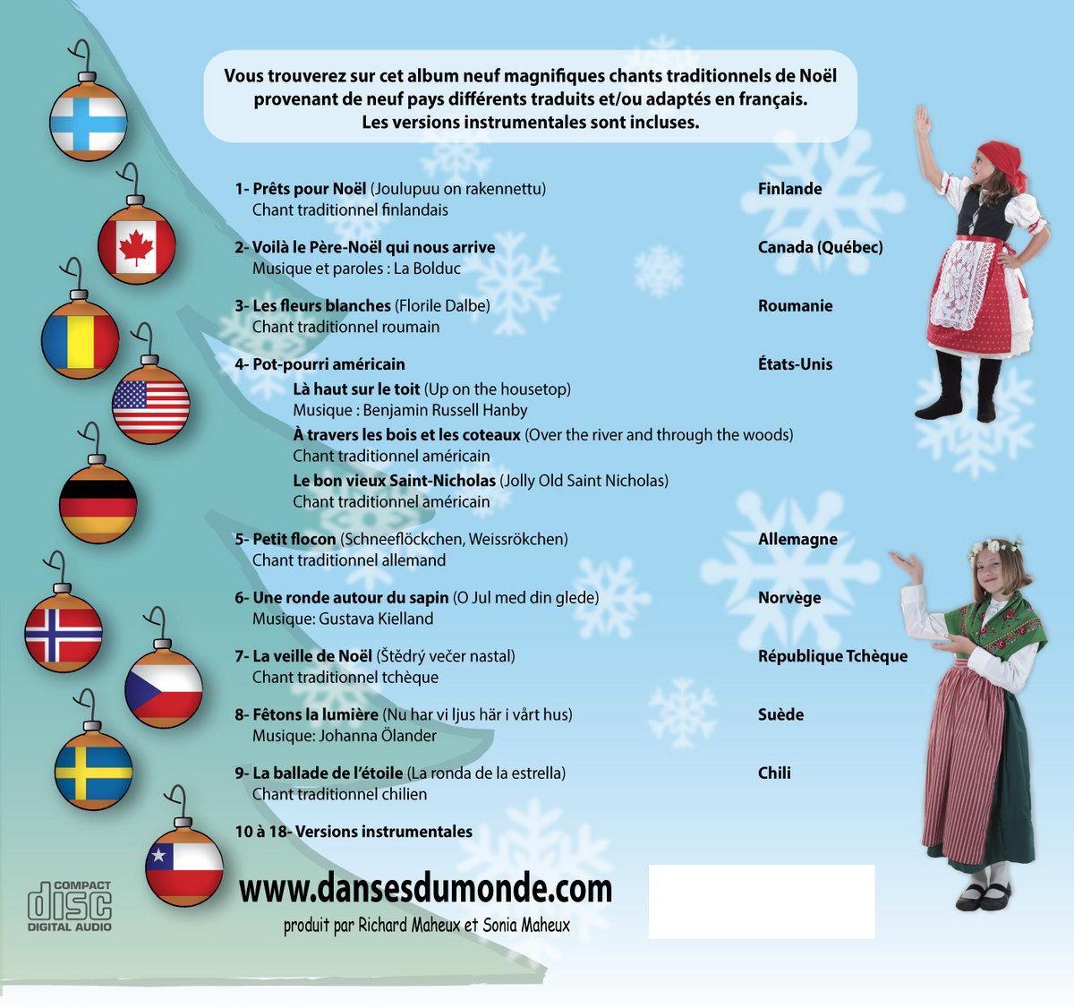 Noël Autour Du Monde Vol. 2 | Danses Du Monde dedans Musique Du Père Noël