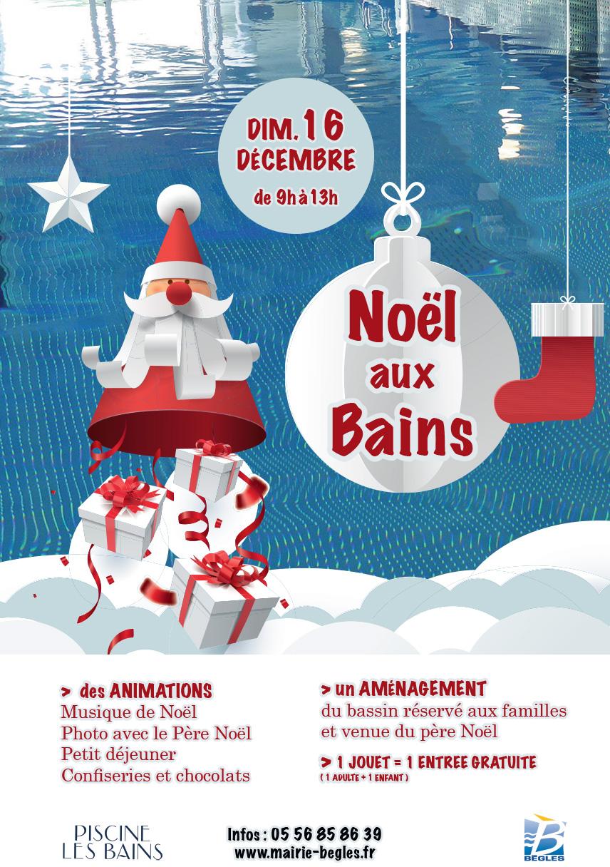 Noël Aux Bains – Bègles concernant Musique Du Père Noël