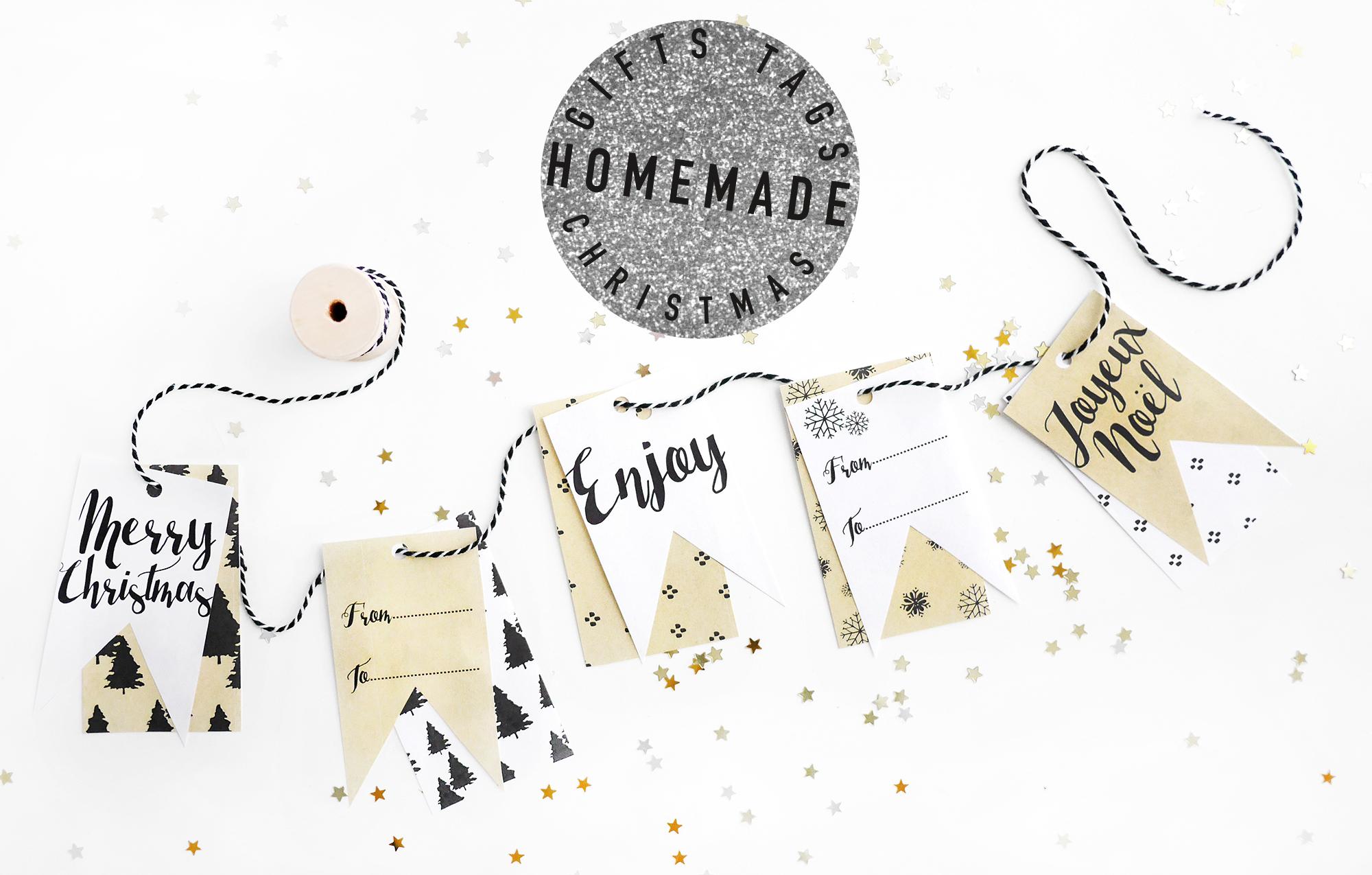 Noël#2 - Les Étiquettes Cadeaux À Télécharger - Milk With Mint serapportantà Etiquette Noel A Imprimer